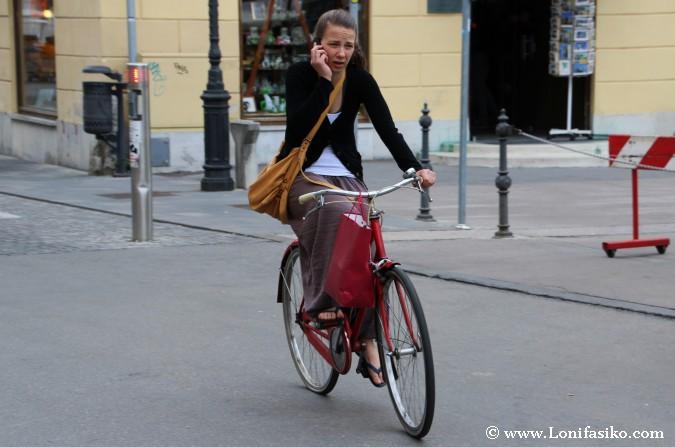 Recorrer Liubliana en bicicleta