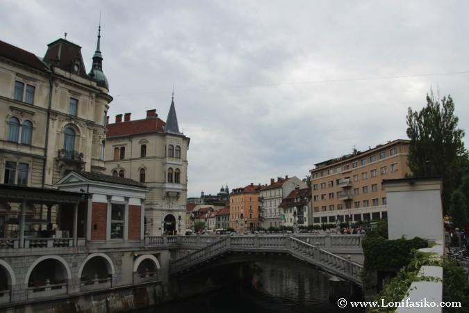 Puente Triple de Liubliana o Triple Bridge