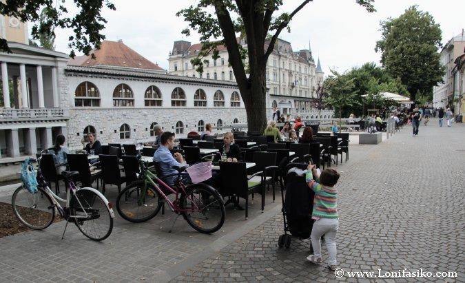 Bares y terrazas en Liubliana