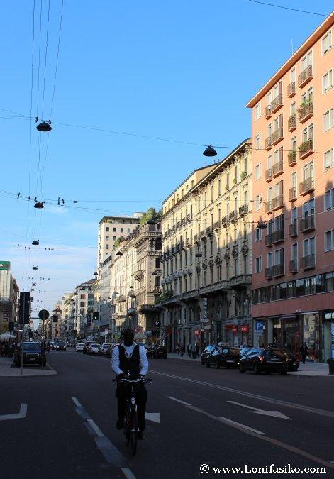 Corso Buenos Aires, de compras en Milán