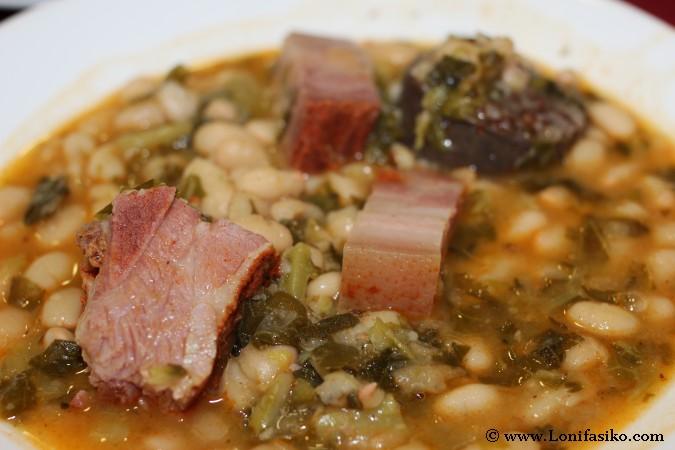 Receta cocido montañés de Cantabria