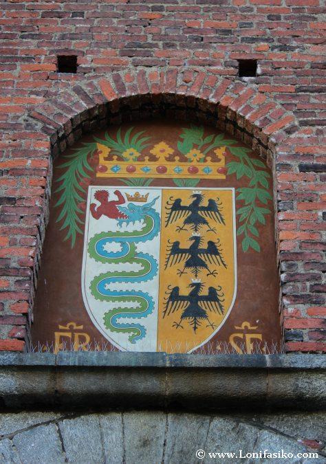 Escudo Castillo Sforzesco