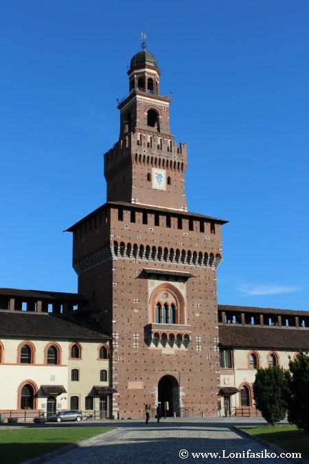 Filarete Castillo de Sforzesco de Milán