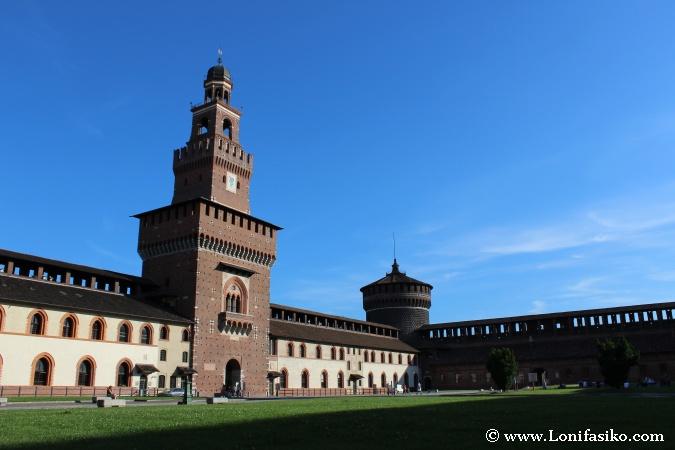 Torre del Castillo Sforzesco
