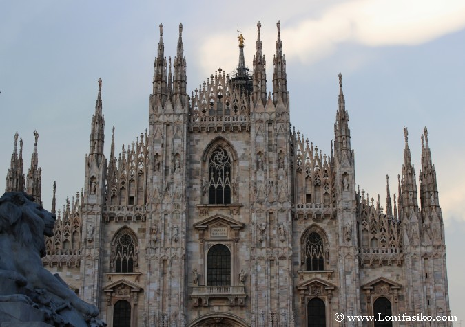 Duomo di Milano o Catedral de Milán