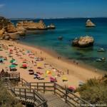 La mejor playa del Algarve: praia Dona Ana