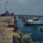 Puerto pesquero de Sagres