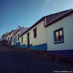 Casas típicas en pueblos de la Costa Vicentina