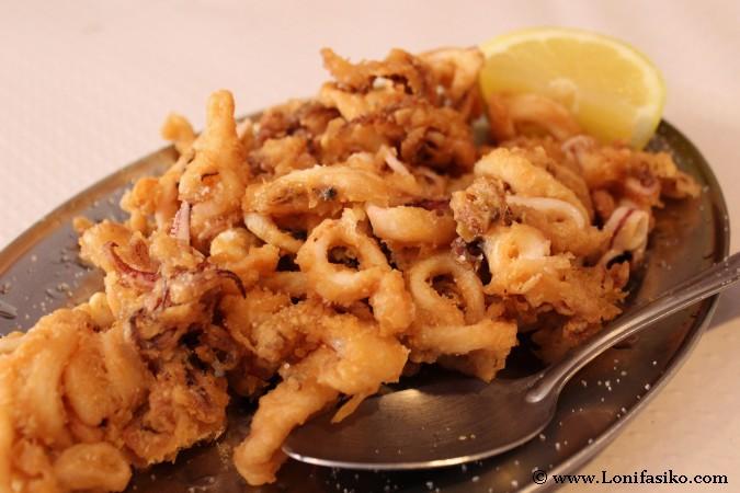 Dónde comer calamares en Galicia