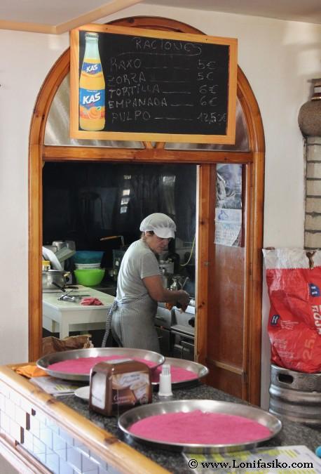 Cocina gallega casera