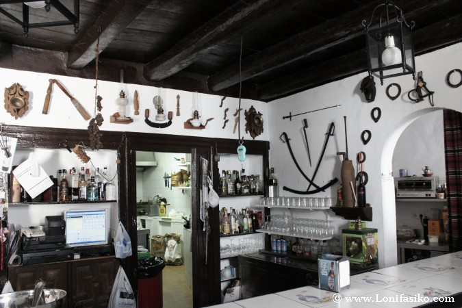 Bar de pueblo de montaña