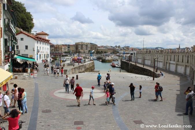 Puerto de Donostia-San Sebastián, antiguo barrio de la Jarana