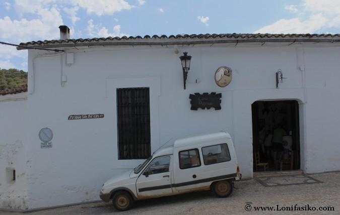 Restaurantes en Alájar: Casa el Padrino
