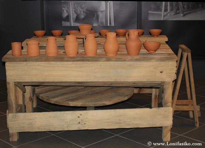 Piezas de cerámica