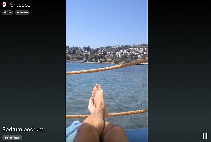 Ver vídeo de Periscope desde PC