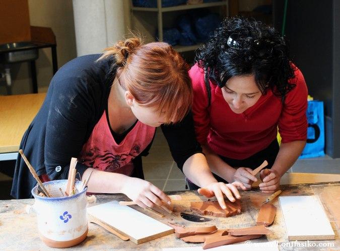 Curso y taller de cerámica