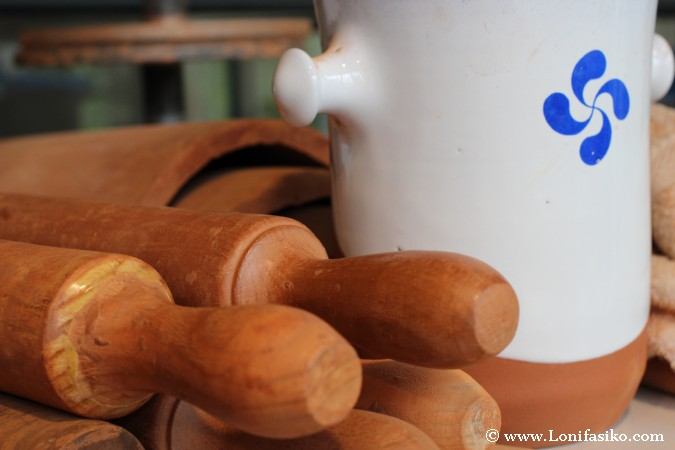 Rodillo para cerámica