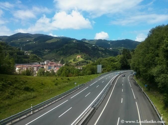 Cómo ir de Bilbao a Donostia-San Sebastián por autopista