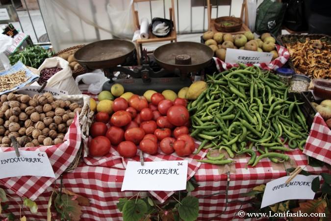 Mercado o ferias en Euskadi