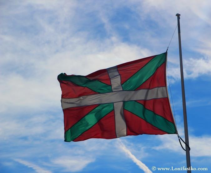 Ikurriña colores bandera de Euskadi