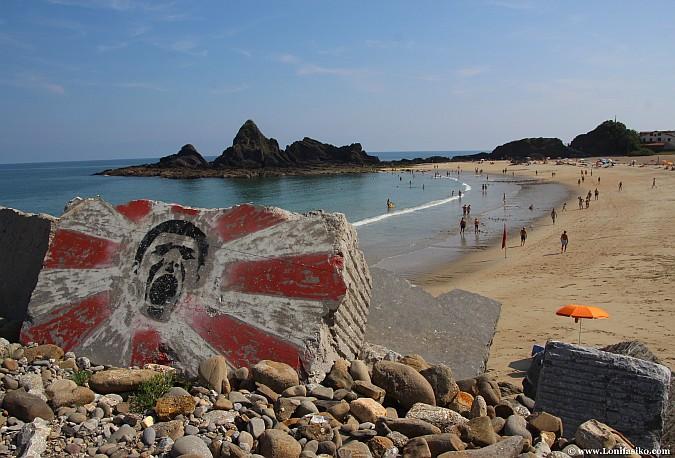 Playas de Gipuzkoa: Saturrarán