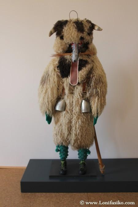 Kurent, protagonista del Kurentovanje o Carnaval de Ptuj