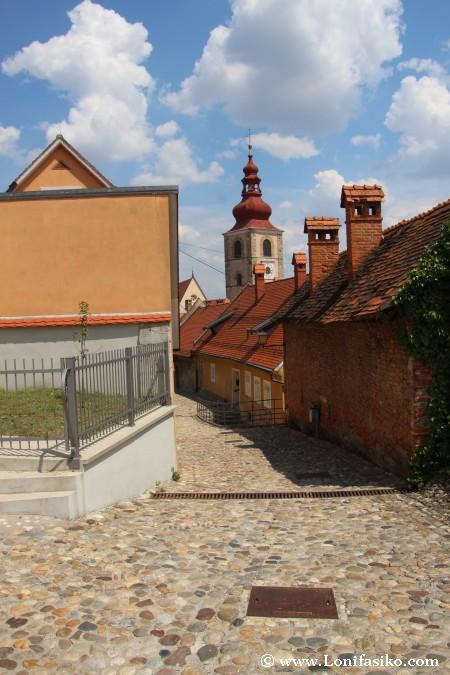 Centro del casco histórico de Ptuj