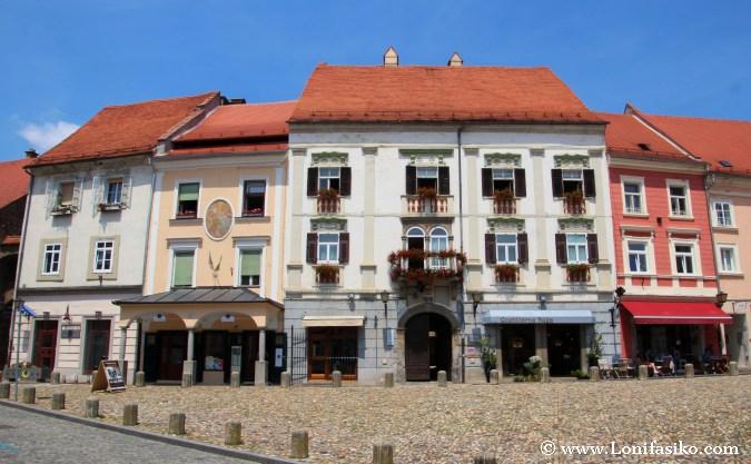 Arquitectura casco histórico de Ptuj