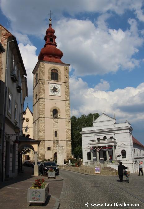 Qué ver en Ptuj: Torre del Reloj
