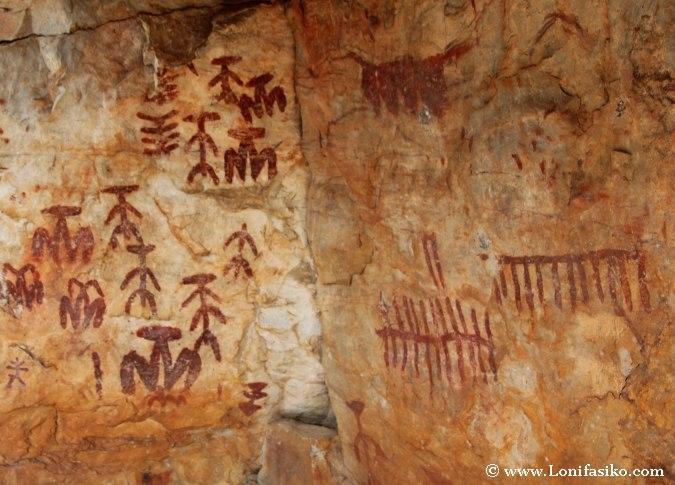 Pinturas rupestres en Fuencaliente, Ciudad Real