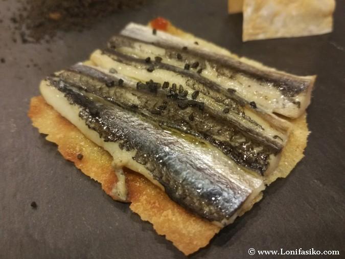 Pizzas extrañas: Cocina vasco-italiana