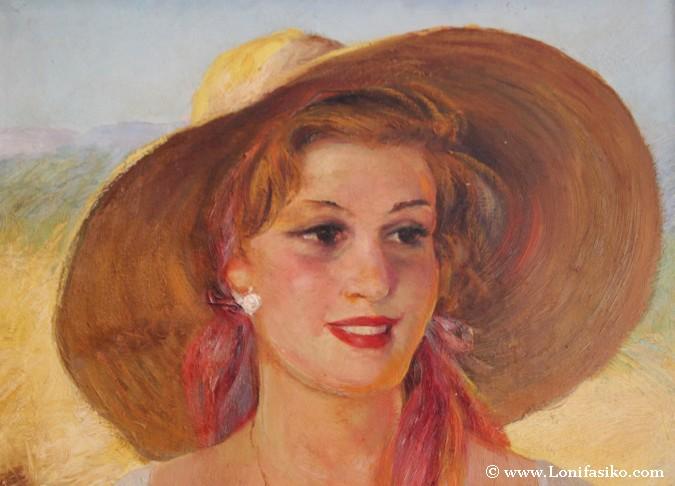 Obra del pintor Alfredo Palmero