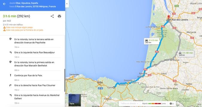 Navegar con Google Maps
