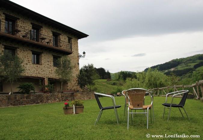 Casas rurales en Gipuzkoa