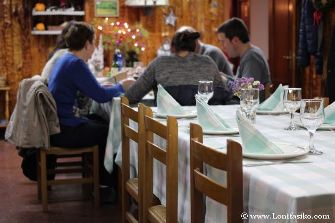 Comer con la familia