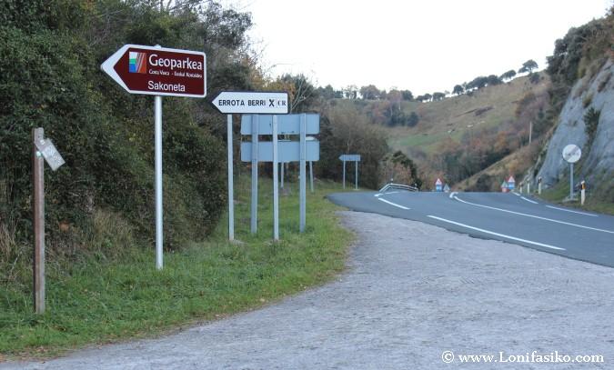 Localización y cómo llegar a Errota Berri en Itziar-Deba