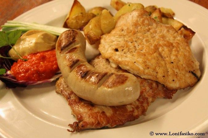 Restaurantes en Škofja Loka. Gastronomía en Eslovenia