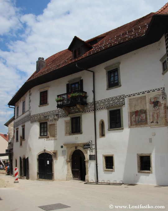 Škofja Loka Casco Histórico Casa Homan