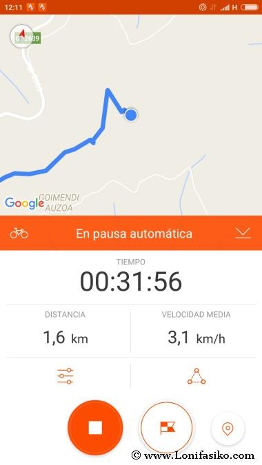 Azkonabieta desde Karabieta Track ruta senderismo