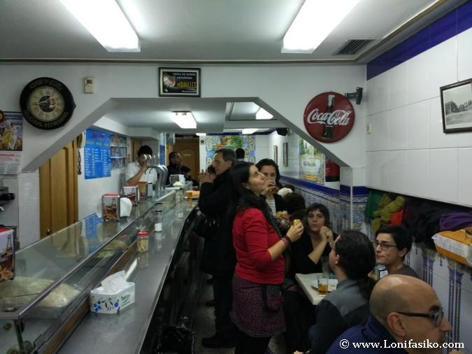 Bar La Ideal Madrid calamares