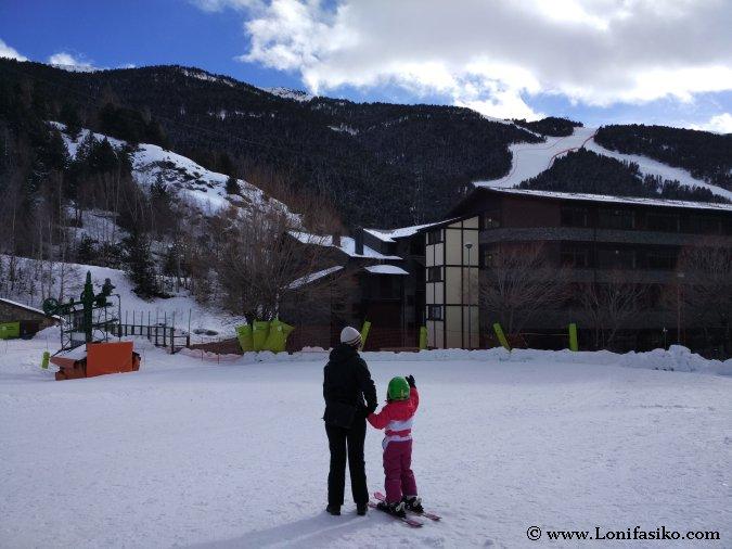 Dónde aprender a esquiar en Andorra
