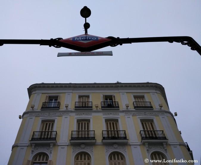 Hostales baratos Madrid cerca de Metro Sol