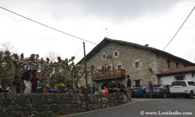 Restaurante Lezika en Kortezubi