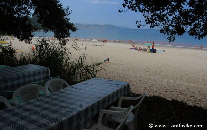 Mejores playas de Galicia: Albariño casero con vistas