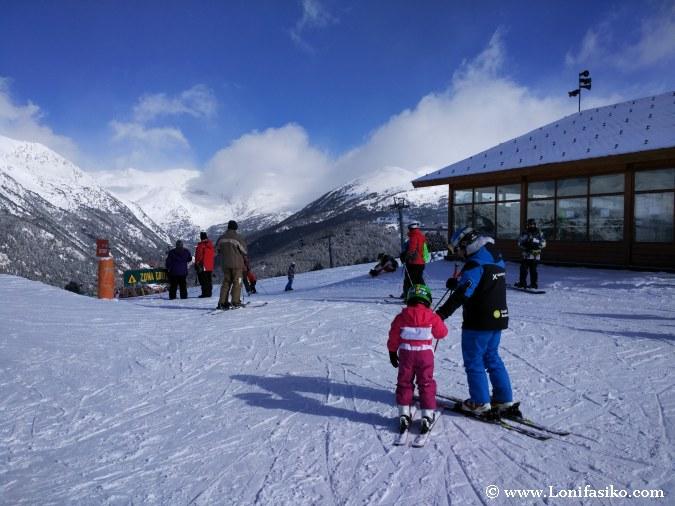 Aprender a esquiar en Andorra Grandvalira