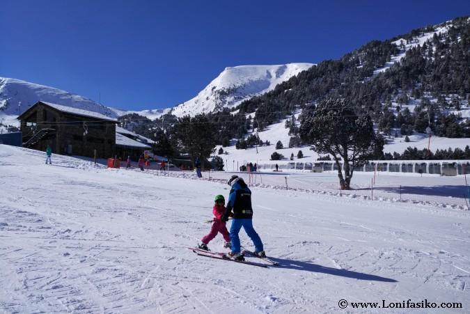 Dónde aprender a esquiar en Andorra Grandvalira