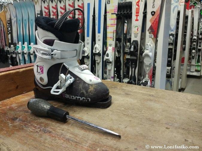 Precio alquiler equipo esquí niños Grandvalira El Tarter