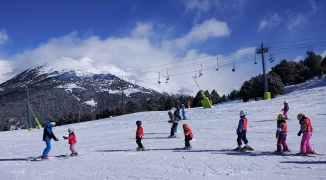 Esquiar con niños en Andorra Grandvalira