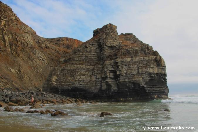 Geología Costa Vicentina Portugal