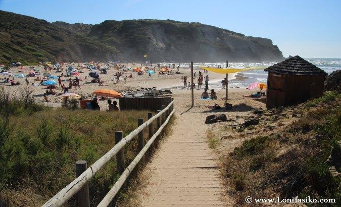 Praia Carvalho Fotos Costa Vicentina Portugal